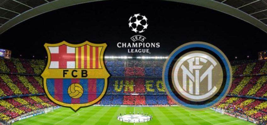 Barça – Inter hoy a partir de las 21:00 en tu restaurante italiano en Barcelona