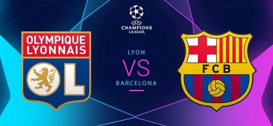Ven a ver el Olympique Lyonnais – Barça de la Uefa Champions League a Luigi Ristorante