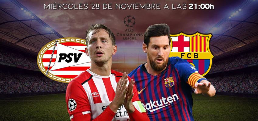 Restaurante italiano con futbol en Barcelona – Hoy PSV – Barça a las 21:00