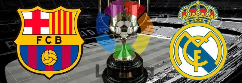 Ven a ver los 3 «clásicos» entre el Barça y el Real Madrid en Luigi Ristorante