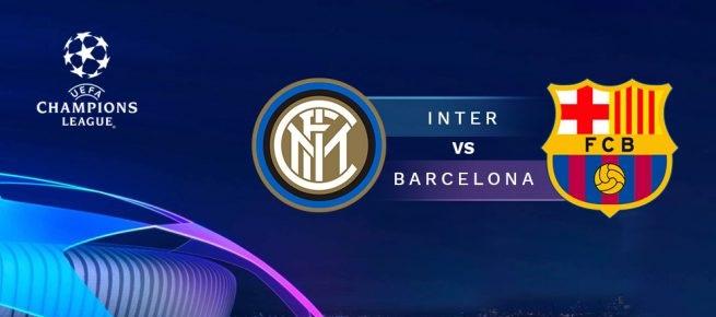 Ven a ver mañana Martes a las 21:00 el Inter – Barcelona en Luigi Ristorante