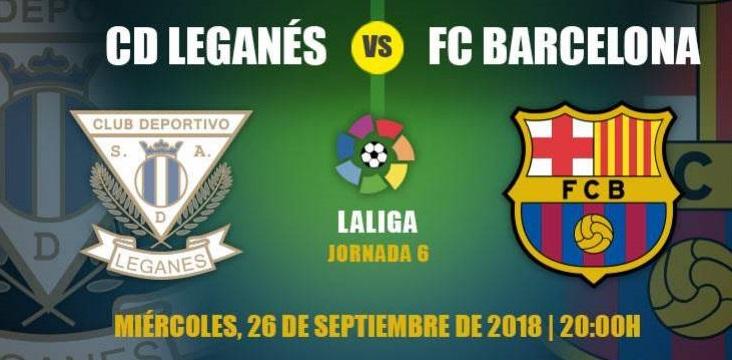 Los mejores partidos de la Liga en Luigi Ristorante – Hoy Leganés – F.C.Barcelona